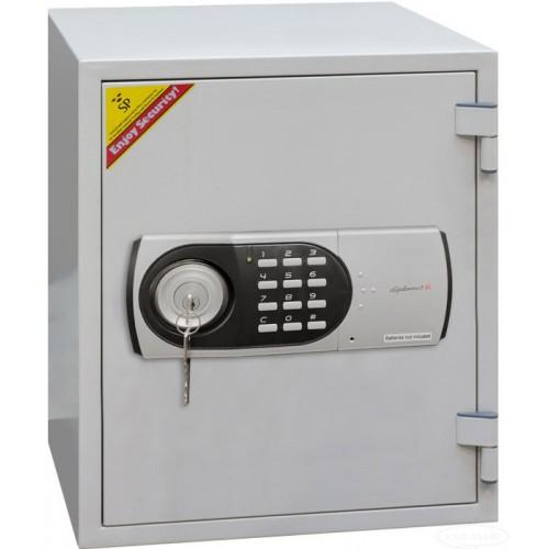 Купить Сейф огнестойкий с электронным замком и ключом 530EК