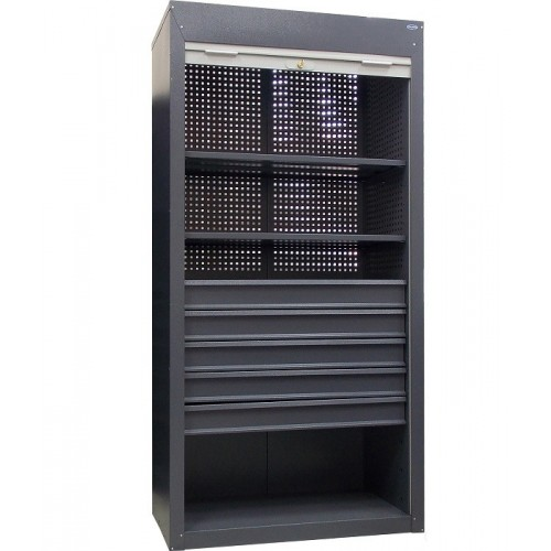 Купить Шкаф инструментальный ролетный ШИ-10/2П/5В Р