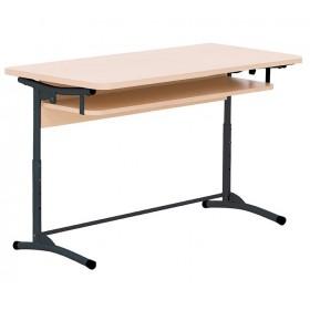 Стол ученический E-172 A black