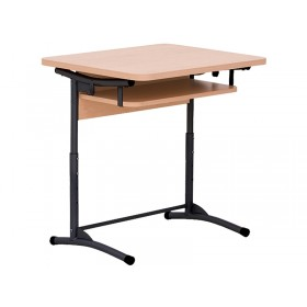 Стол ученический E-172/1 A black