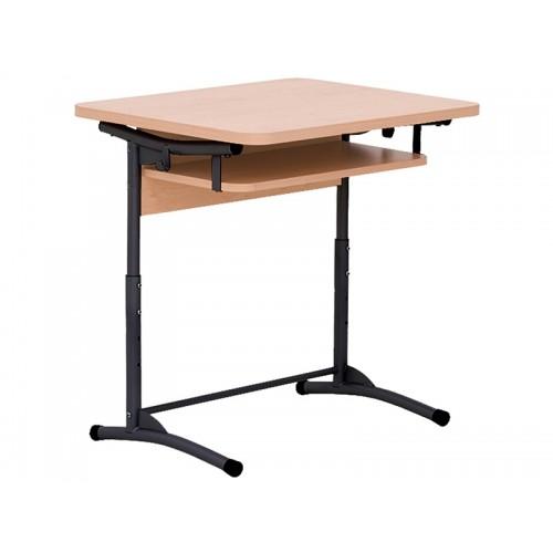 Купить Стол ученический E-172/1 A black