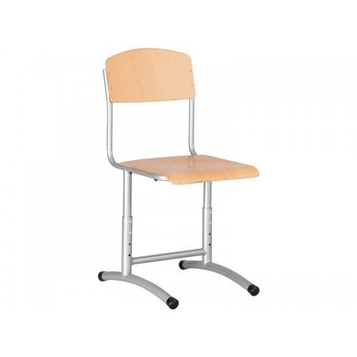 Купить Стул ученический E-273 BR Alu регулируемый