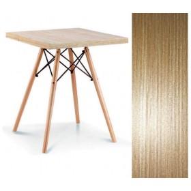 Стол обеденный Крит 2 натуральный дуб, 700х700