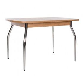 Стол обеденный TALIO (ТАЛИО) с металлическим хромированным каркасом
