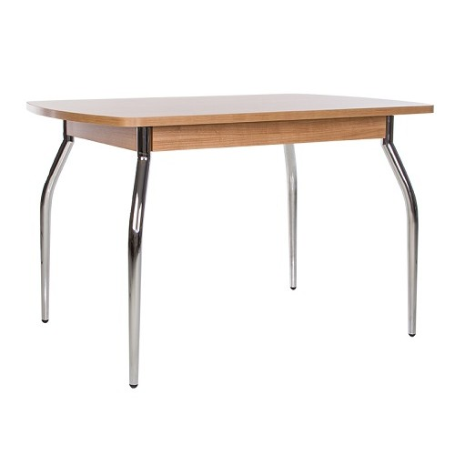 Купить Стол обеденный TALIO (ТАЛИО) с металлическим хромированным каркасом
