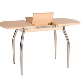 Стол обеденный TALIO (ТАЛИО) EXT раздвижной с металлическим хромированным каркасом