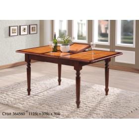 Стол деревянный СТ 364560 с керамической столешницей 1125(+375)х900x750h махагон