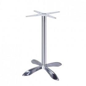 Опора для стола AL0401-73 алюминиевая h730 (основание)