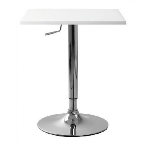 Купить Стол барный Али-S регулируемый белый, 600х600