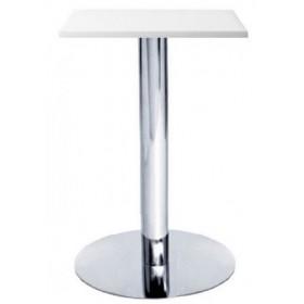 Стол барный Алор1 белый, 600х600