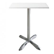 Стол барный Амелия-S белый, 600х600