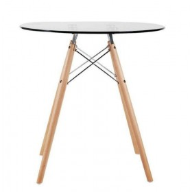 Стол обеденный Имз стекло, d800