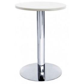 Стол барный Кипр1 белый, d600