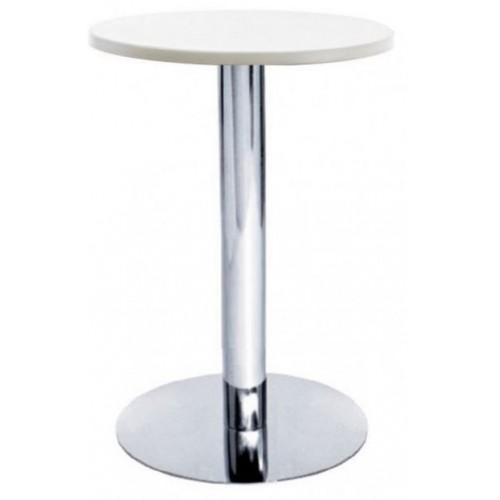 Купить Стол барный Кипр1 белый, d600, h1100