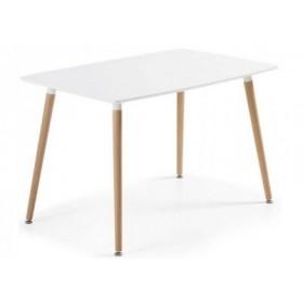 Стол обеденный Нури белый, 1200х800