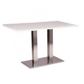 Стол барный Пирео белый, 1200х800