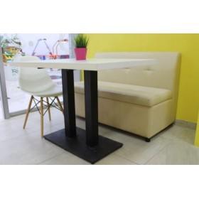 Стол барный Роатан-BL белый, 1200х800