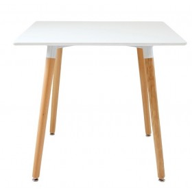 Стол обеденный Нури белый, 800х800