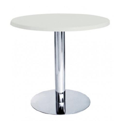 Купить Стол барный Тава R белый, d600 мм