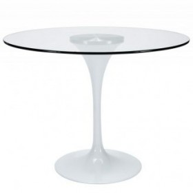 Стол обеденный Тюльпан G стеклянный d800
