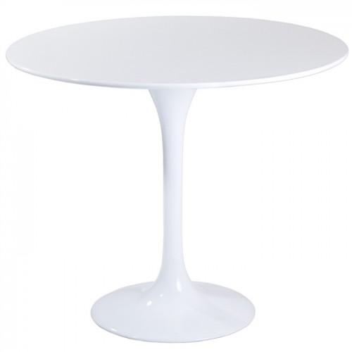 Купить Стол обеденный Тюльпан белый, d800
