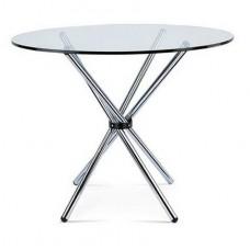 Стол Тог обеденный, стекло, d900