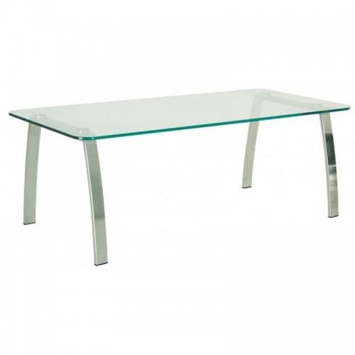Купить Стол журнальный INCANTO (Инканто) table Duo chrome GL стекло