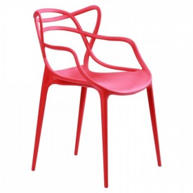 Стул Bari (Бари) пластик красный