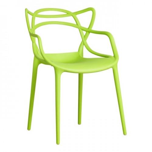 Купить Стул Bari (Бари) пластик зеленый