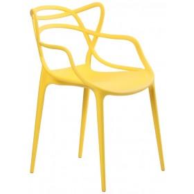 Стул Bari (Бари) пластик желтый