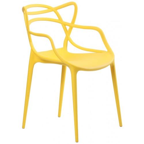 Купить Стул Bari (Бари) пластик желтый