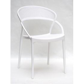 Стул Nelson (Нелсон) пластик белый