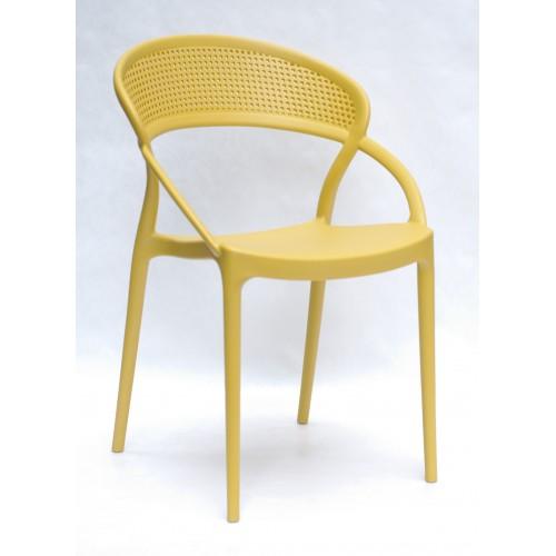 Купить Стул Nelson (Нелсон) пластик желтый