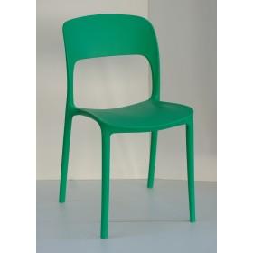 Стул Ostin (Остин) пластик зеленый