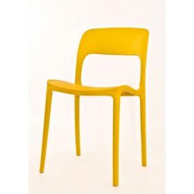 Стул Ostin (Остин) пластик желтый