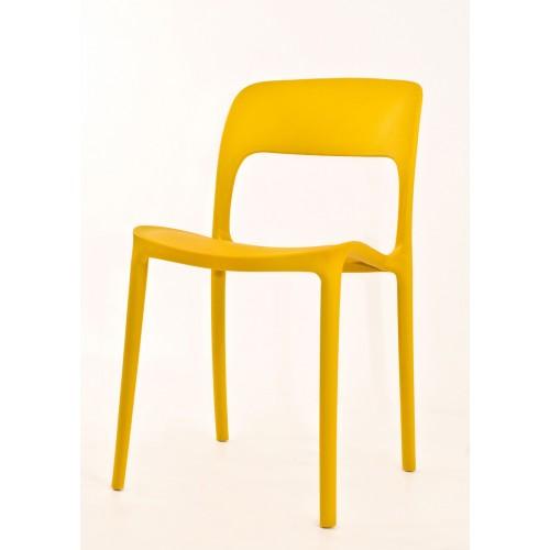 Купить Стул Ostin (Остин) пластик желтый