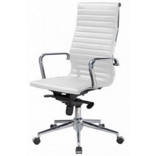 Купить Кресло Алабама НNEW офисное, высокая спинка, белое