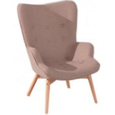 Кресло Флорино коричневое, мягкое
