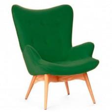 Кресло Флорино зеленое, мягкое
