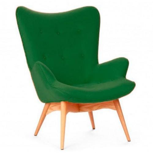 Купить Кресло Флорино зеленое, мягкое