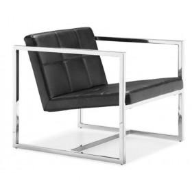 Кресло Нортон черное, мягкое