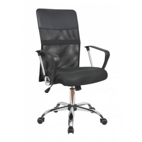Купить Кресло Оливия D офисное, сетка, черное