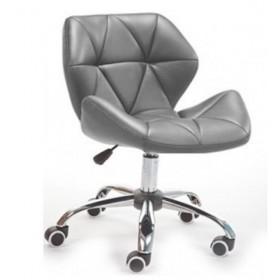 Кресло Стар Нью мягко хромированное серое