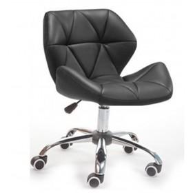 Кресло Стар Нью мягкое хромированное черное