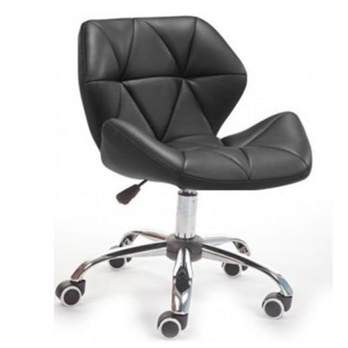 Купить Кресло Стар Нью мягкое хромированное черное