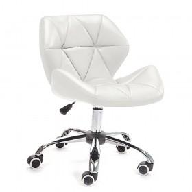Кресло Стар Нью мягкое хромированное белое