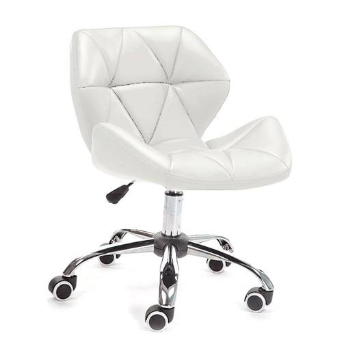 Купить Кресло Стар Нью мягкое хромированное белое