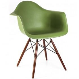 Кресло Тауэр Вуд зеленое, бук
