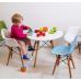Купить Стул детский Тауэр Вaby, пластиковый голубой