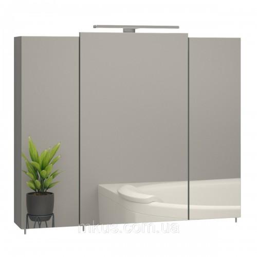 Купить Зеркальный шкафчик в ванную Эверест 800
